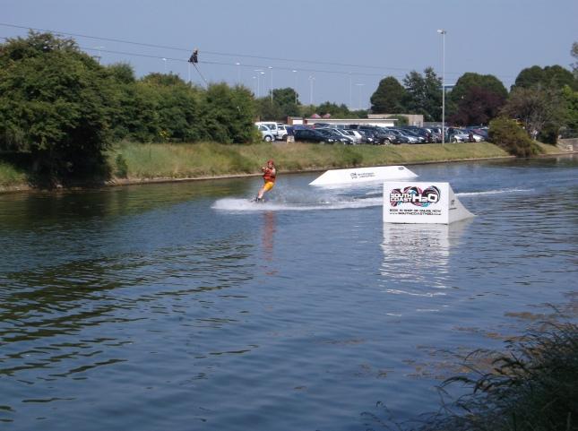 Water Skiing at Northsea
