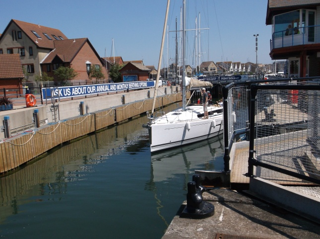 Ports Solent locks