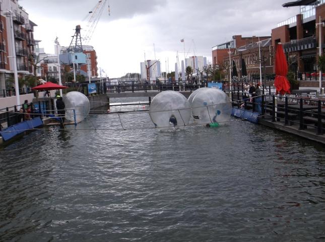 Gunwharf Funballs