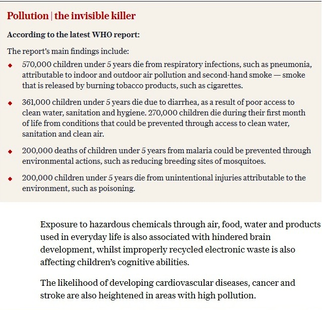 Air Pollution Invisible Killer