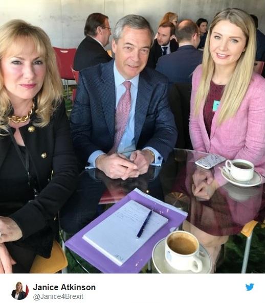 Janice Atkinson Nigel Farage Lauren Southern